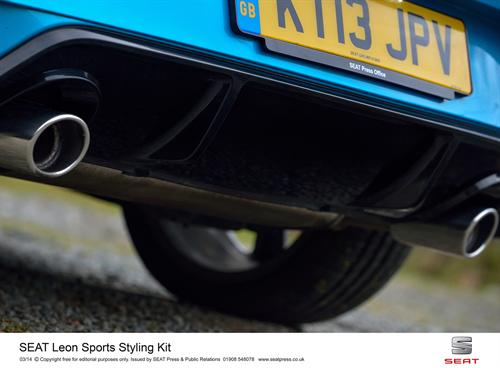 Stunning new sports styling kit for seat leon - Detailing World